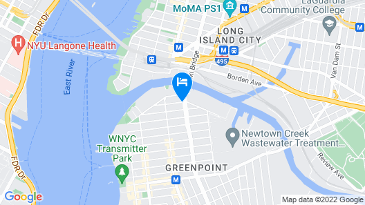 The Box House Hotel Map