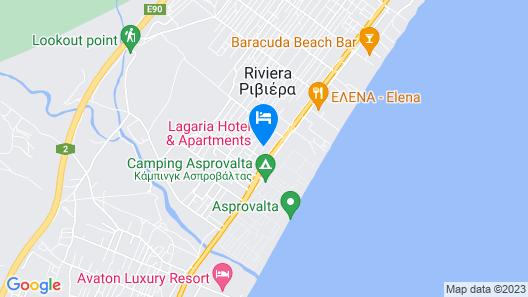 Lagaria Luxury Rooms & Apartments Map