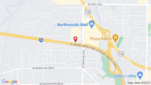 SpringHill Suites Peoria Westlake Map