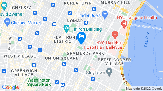 Gramercy Park Hotel Map
