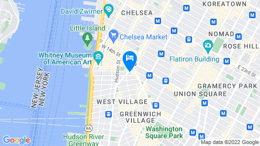 Best West Village Location. Best Open City Views Map