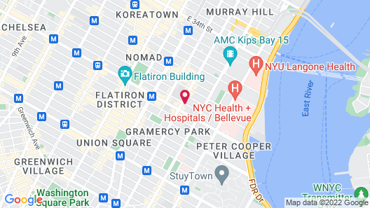 The Marcel at Gramercy Map