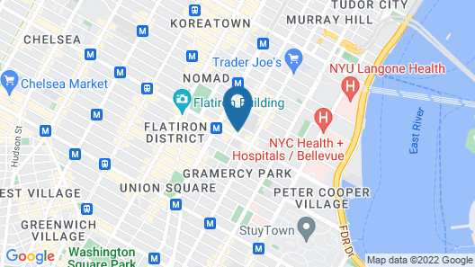 Freehand New York Map