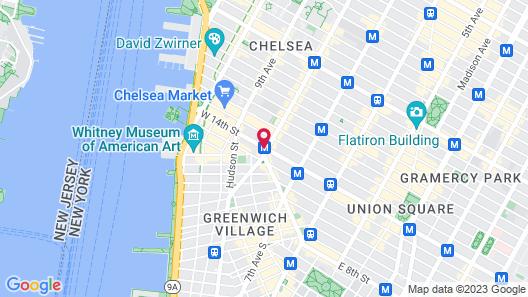 Hotel 309 Map