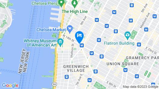 Chelsea Pines Inn Map