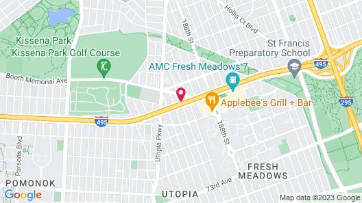 Courtyard by Marriott New York Queens/Fresh Meadows Map