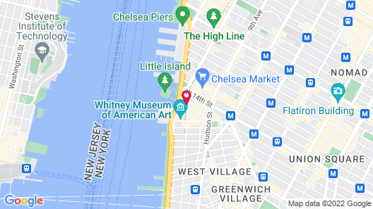 The Standard High Line Map