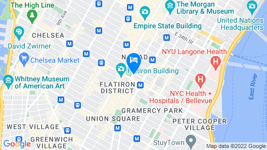 The New York EDITION Map