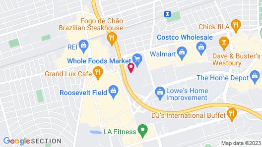 Hampton Inn Garden City Long Island Map