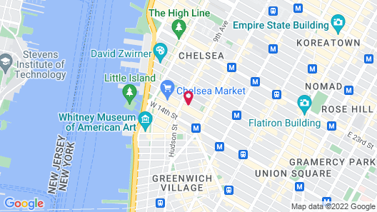 Dream Downtown Map
