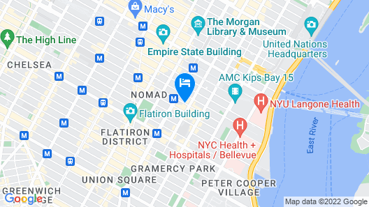 Park South Hotel Map