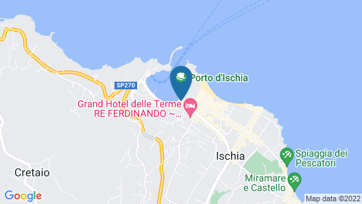 Aragona Palace Hotel & Spa Map