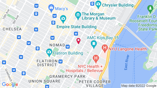 The Hotel @ New York City Map