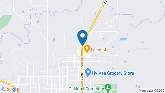 Super 8 by Wyndham Centerville Map