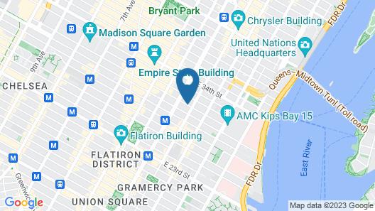 Hotel 31 Map