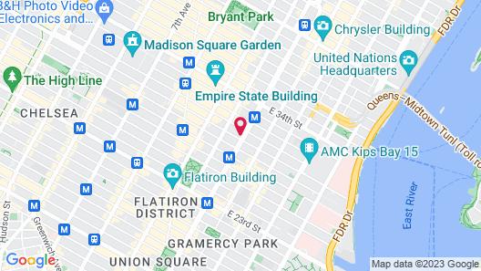 Mondrian Park Avenue Map