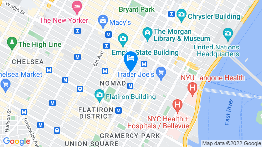 The Redbury New York Map