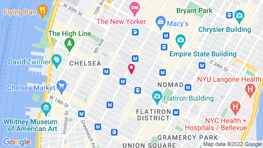 Four Points by Sheraton Manhattan - Chelsea Map