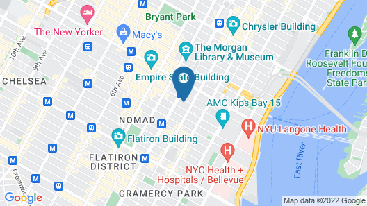 The Marmara Park Avenue Map