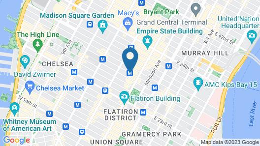 Nomad Design House Map