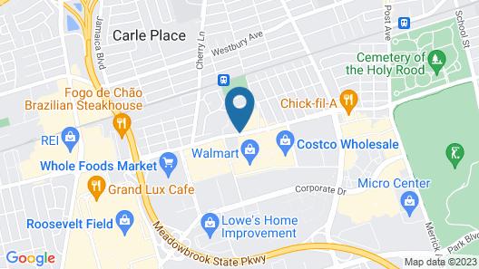 Holiday Inn Westbury - Long Island Map