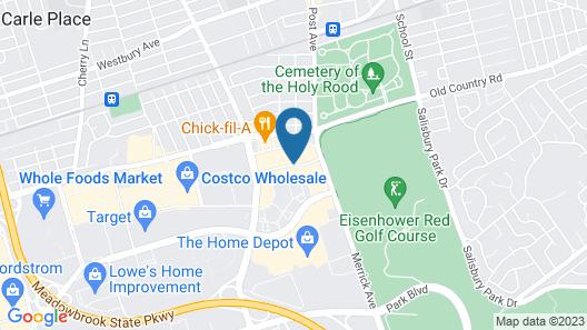 Courtyard Westbury Long Island Map