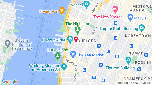 The High Line Hotel Map