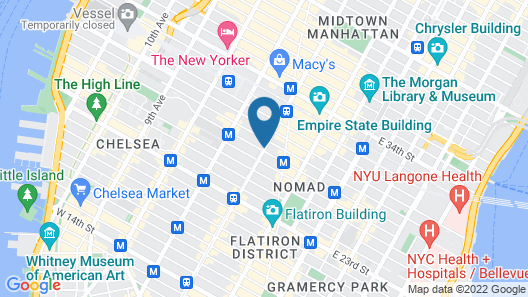 Hyatt House New York/Chelsea Map