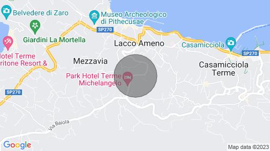 Panoramahaus Lacco Ameno Map
