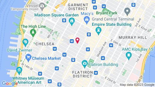 Hotel Hayden Map