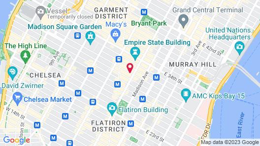 Wolcott Hotel Map