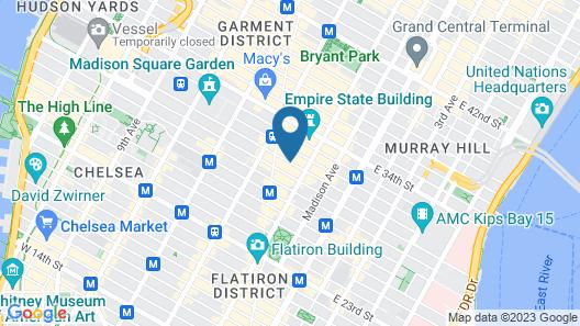 Macy Empire Apartments Map