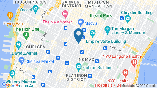 Kimpton Hotel Eventi, an IHG Hotel Map