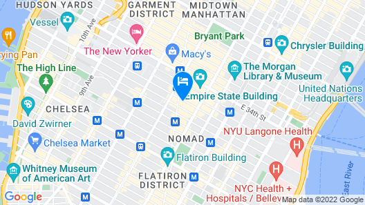 The Suites at central NYC Map