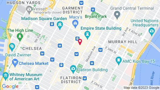 1234 Broadway Avenue Map