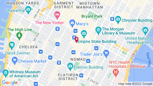 Broadway Suite NY Map