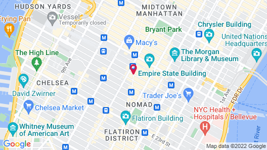 The Nomad Suites & Apartments Map