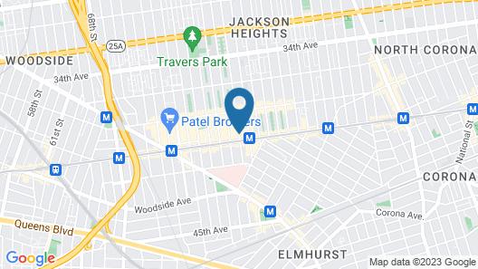 Elmhurst Hotel Map