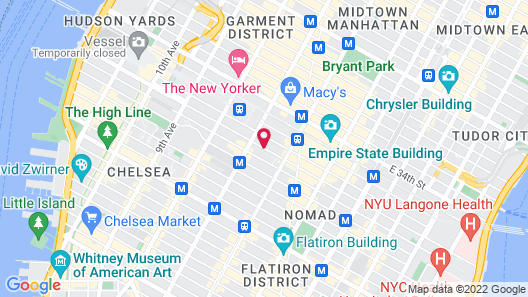 Courtyard by Marriott New York Manhattan / Chelsea Map