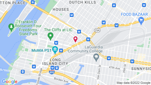 Hyatt Place Long Island City/New York City Map