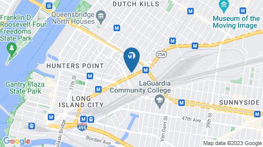 Aloft Long Island City - Manhattan View Map