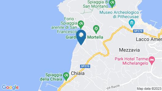 Hotel Tritone Resort & Spa Map