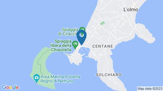 Casa Rachele - Gioia Apartments Map
