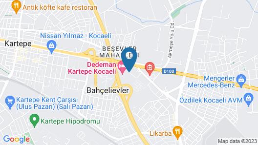 DoubleTree by Hilton Kocaeli Map