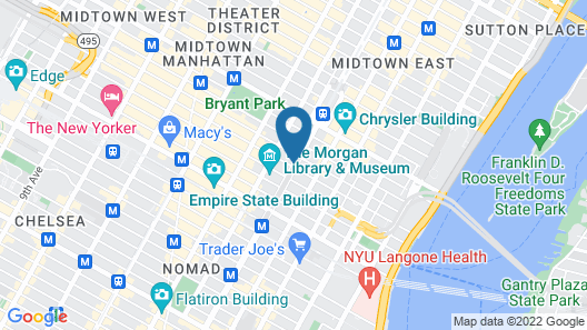 Iberostar 70 Park Avenue Map