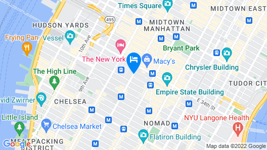 Hotel Pennsylvania Map