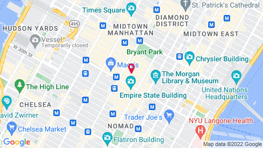 Best Western Premier Herald Square Map