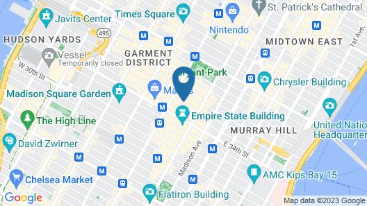 Best Western Premier Herald Square Map