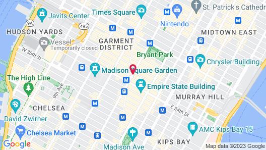 Courtyard by Marriott New York Manhattan/Herald Square Map