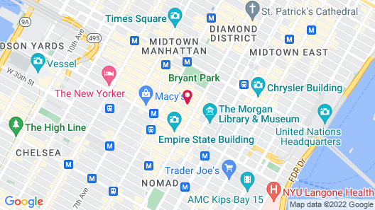 Wingate by Wyndham New York Midtown South/5th Ave Map